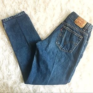 Vintage Levi's 550 High Rise Wedgie Fits Jeans 10M